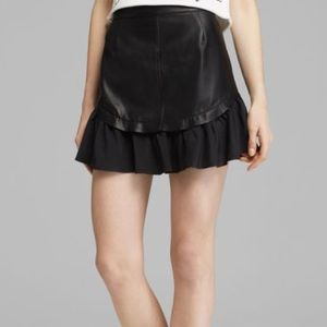 PJK leather skirt